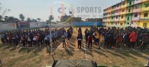 20वीं अंतर जिला वॉलीबॉल प्रतियोगिता के उद्घाटन मुकाबले में मेज़बान गोड्डा जीता