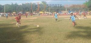 उद्घाटन मुकाबले में राजकीय मध्य विद्यालय, बुढ़ाखुखरा की रोमांचक जीत